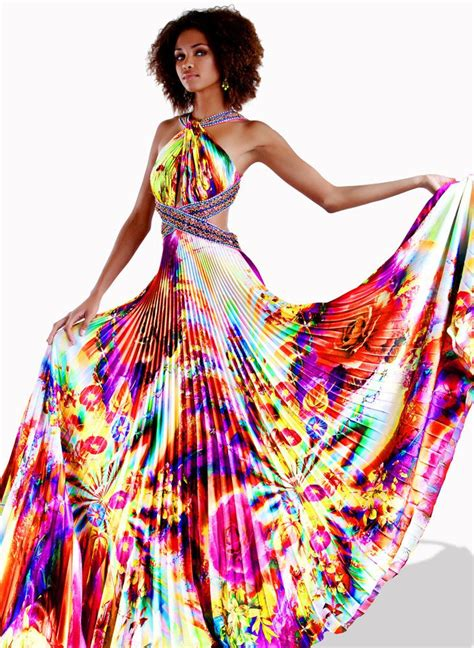 colorful dresses 90 best images about colorful dresses on prom