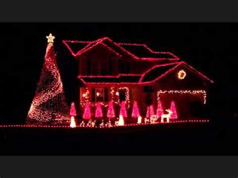 2011 brown christmas light show deck the halls youtube