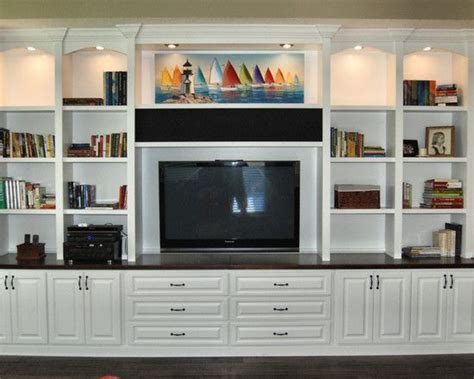 hand crafted painted built in tv cabinetry by tony o home theater custom cabinets gallery of elegant custom