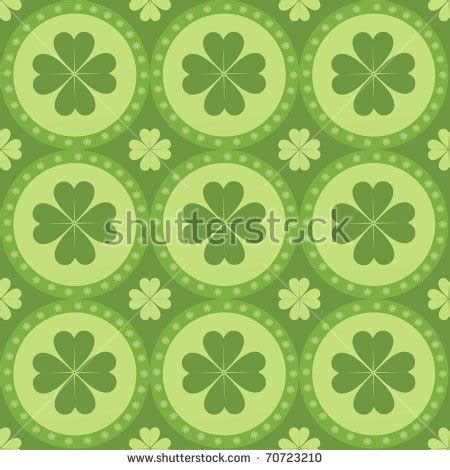 rubber st pattern vintage st patricks day rubber sts stock vector
