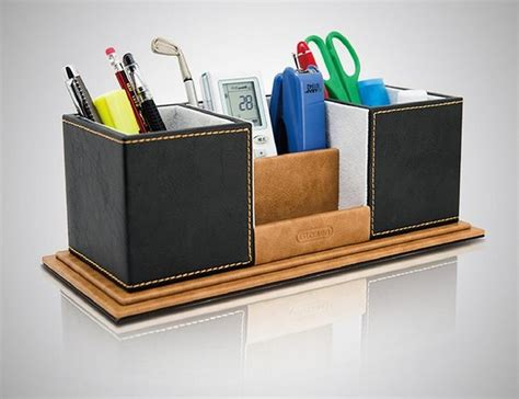 Handmade Pen Holder Design - pu leather pen holder creative handmade fashion remote