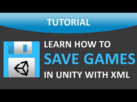 xml tutorial unity save and load app data with xml file error windows