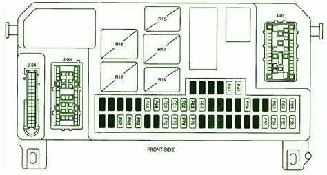 2008 mazda 2 fuse box diagram circuit wiring diagrams