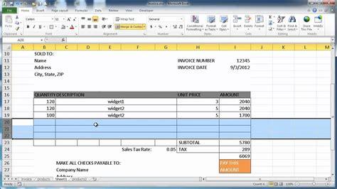 excel invoice template mac onlinehobbysite com
