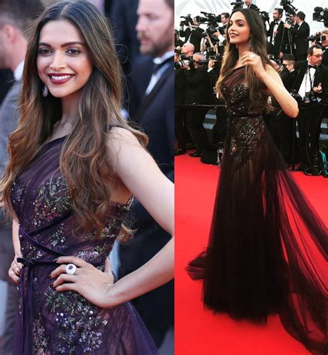 deepika padukone cannes 2017 cannes 2017 deepika padukone walks the red carpet looking