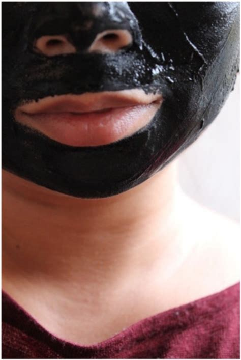 diy charcoal mask per yourself with 12 diy activated charcoal products