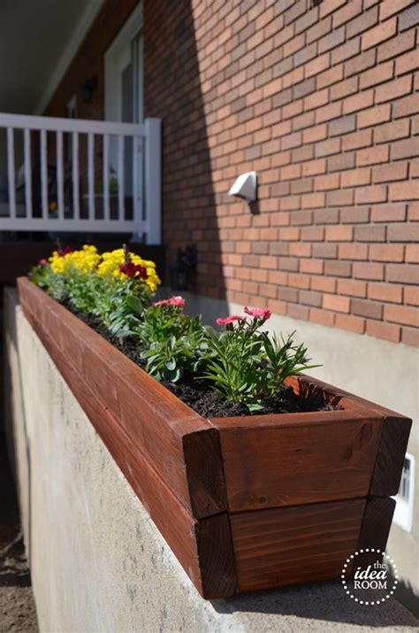 Diy Outdoor Planters by Diy Flower Planter