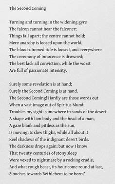 """The Hollow Men"" by T. S. Eliot Mistah Kurtz--he dead. A"