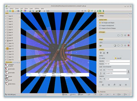 Layout Editor Background Image | layouteditor a versatile editor for gds dxf and more file