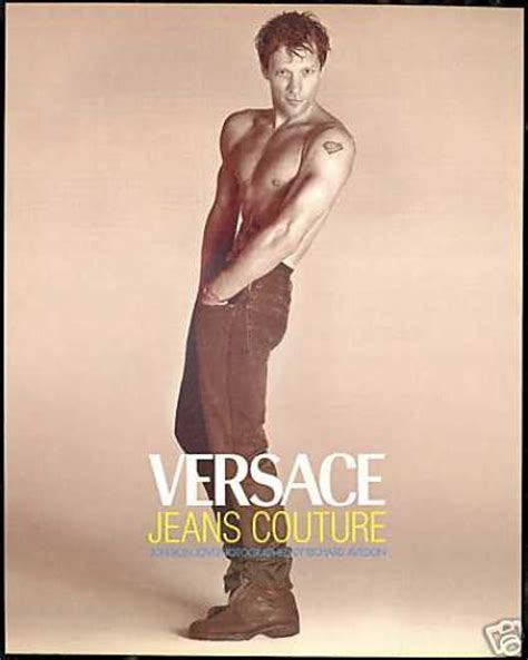 bon jovi versace ad vintage music advertisements of the 1990s page 14