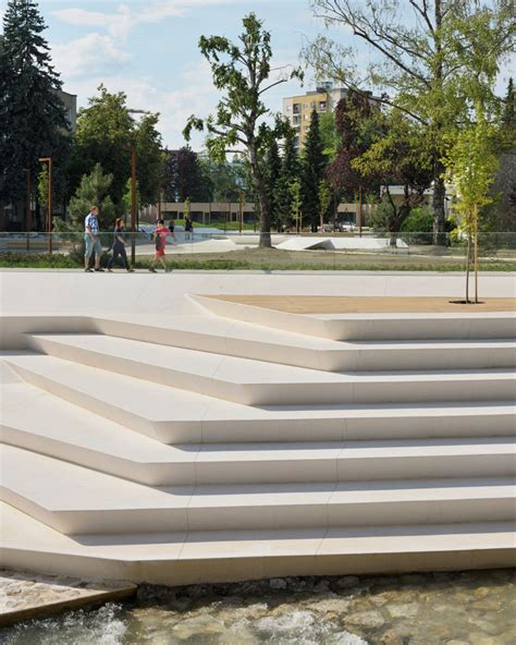Designboom Landscape Architecture | enota promenada velenje city center pedestrian zone