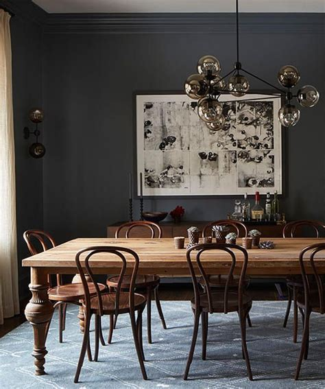 dark dining room table best 25 dark dining rooms ideas on pinterest lighting