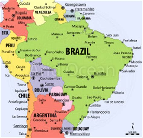 neighboring countries of brazil 28 neighboring countries of brazil brazil map and