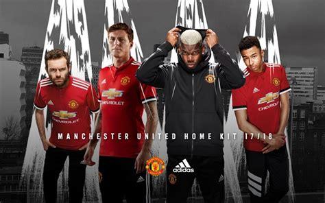 Jersey Manchester United Mu Home Musim 2017 2018 adidas rilis jersey manchester united 2017 2018 dengan