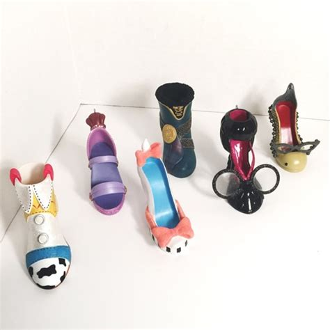 7 new disney runway shoe ornaments arrived