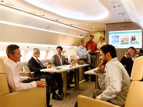 Interior Illusions Home by Warren Buffett Private Jet