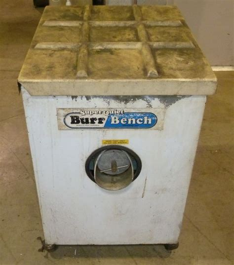 burr bench abrasive finishing inc super quiet burr bench deburring unit