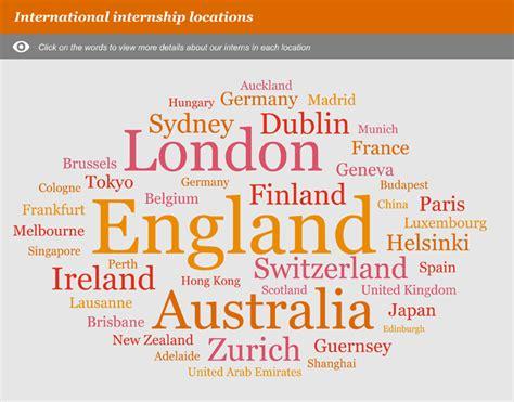 Pwc Intern International Students Mba by Pwc S Student Careers Website International Intern Experience
