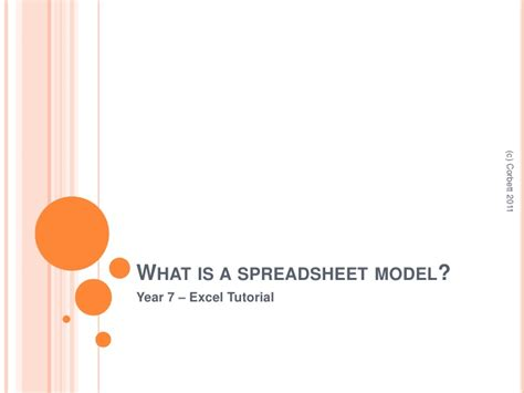 What Is A Spreadsheet Model by Excel Tutorial Spreadsheet Model