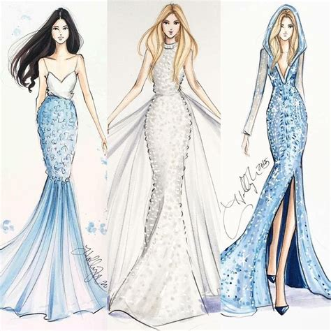 fashion illustration gown sieh dir dieses instagram foto hnicholsillustration