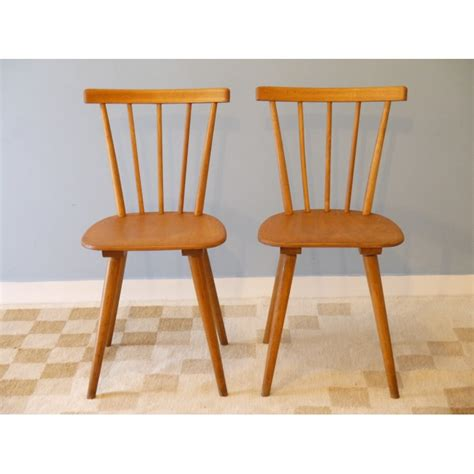 chaises vintage scandinave bois la retro