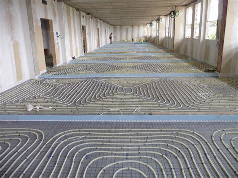 impianti a pavimento a secco impianti radianti