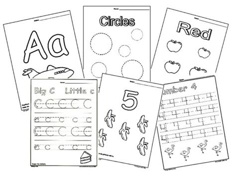 worksheets for preschoolers online coloring pages preschool learning online activities