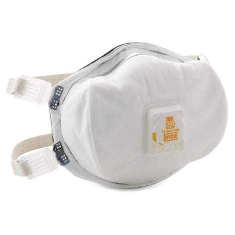 3m disposable n100 particulate respirator mmm8233 the