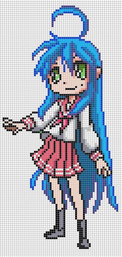 anime pixel art pictures to pin on pinterest pinsdaddy