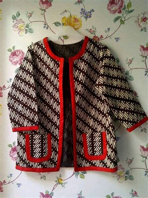 Blazer Batik Ad02 65 119 best images about batik songket kain on batik dress batik fashion and kebaya