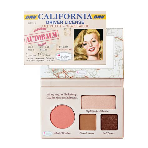 thebalm autobalm california palette feelunique