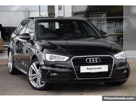 Audi A3 Sportback S Line For Sale by Used Audi A3 Cars For Sale With Pistonheads