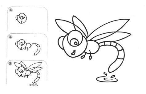 draw for free free coloring pages learn draw insects learn how to draw