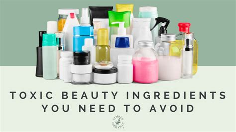 dangerous chemical commonly used in hair salons to straighten hair 5 toxic beauty ingredients you need to avoid simply