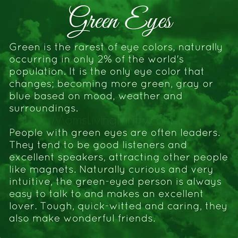 facts about the color green 50 best images about make my green eyes greener on