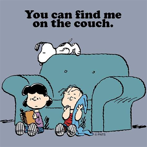 you can on the couch peanuts on twitter quot you can find me on the couch http