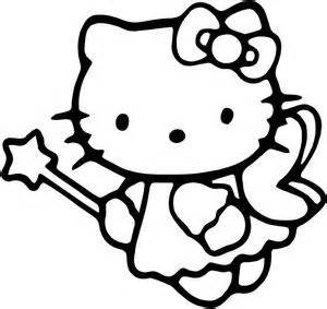 hello kitty fairy coloring page hello kitty fairy coloring pages