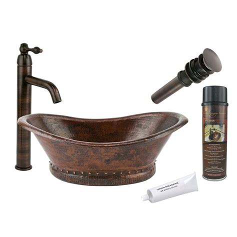 hammered copper vessel premier copper products bath tub hammered copper vessel