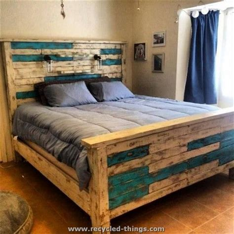 Bed Thing by Recycled Pallet Furniture Ideas Recycled Things