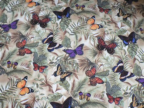 Butterfly Quilt Fabric by Butterfly Fabric A New Day Dawns