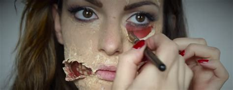Tutorial Zombie Trucco | tutorial di makeup per halloween trucchi per un look