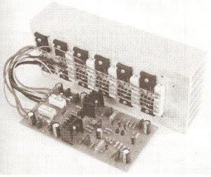 Pcb Power 400 Watt Pa 018b 600w audio lifier circuit with 85v 8ohms the circuit