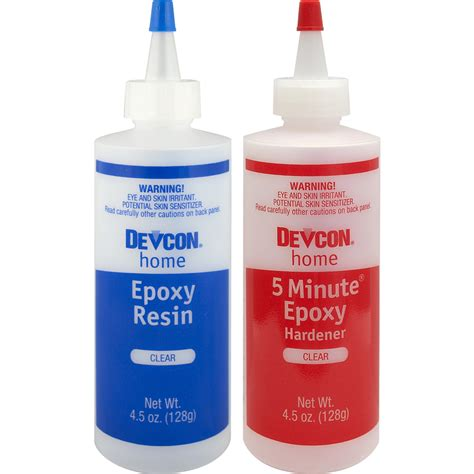 Clear Epoxy Shop Devcon Clear Epoxy Adhesive At Lowes