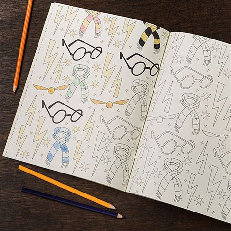 harry potter coloring book artifacts harry potter coloring book