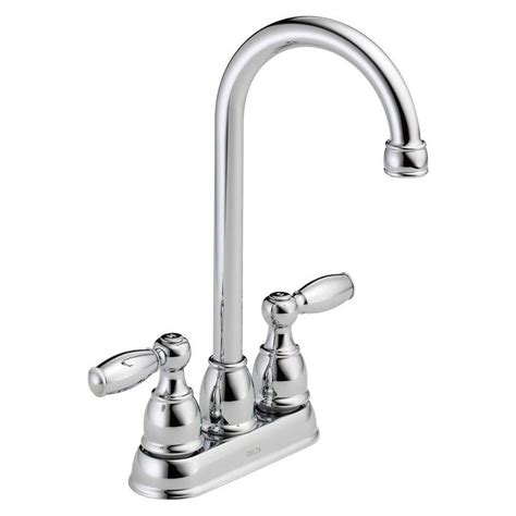 delta chrome kitchen faucets delta lewiston chrome kitchen faucet