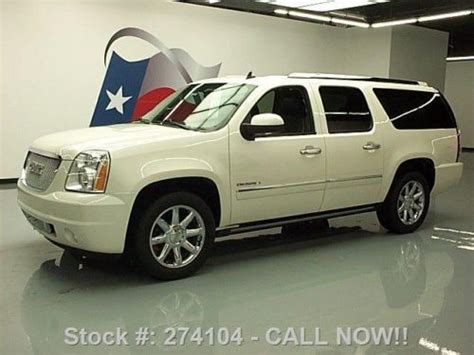 2010 gmc yukon denali nav dvd loaded milton ontario used car for sale 2148227 find used 2010 gmc yukon xl denali sunroof nav dvd rear cam 45k texas direct auto in stafford