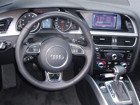 audi convertible interior audi a5 interior image 212