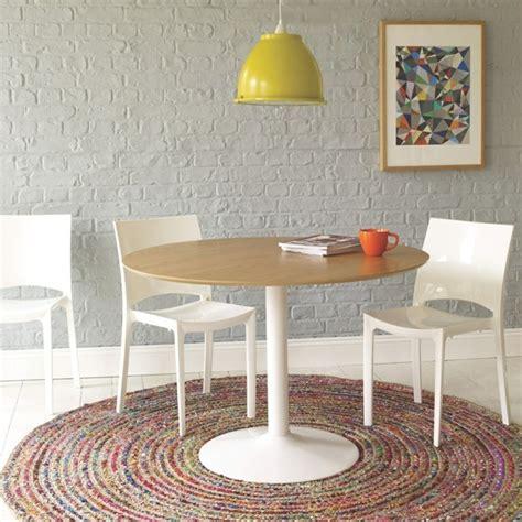 moderne runde teppiche teppich esstisch esszimmer runder esstisch und runder