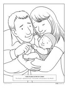 March 2009 Page 41  Family Members Have Important Responsibilities sketch template