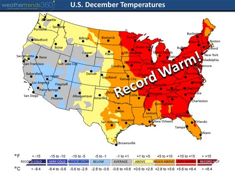 us weather map december december 2015 weather roundup weathertrends360
